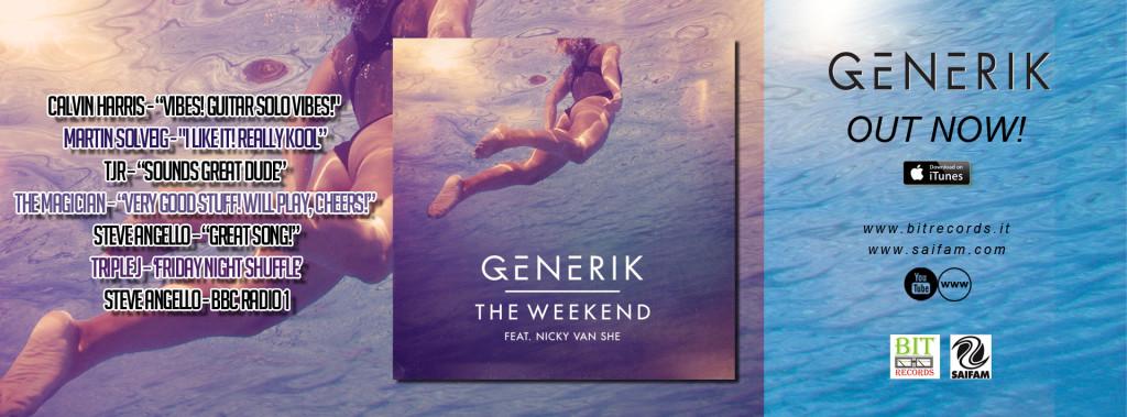 Generik feat Nicky Van She - The Weekend FB