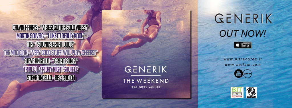 Generik feat Nicky Van She - The Weekend FB