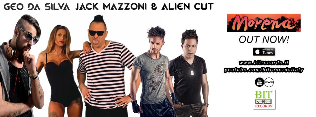 Geo Da Silva, Jack Mazzoni & Alien Cut - Morena FB copia