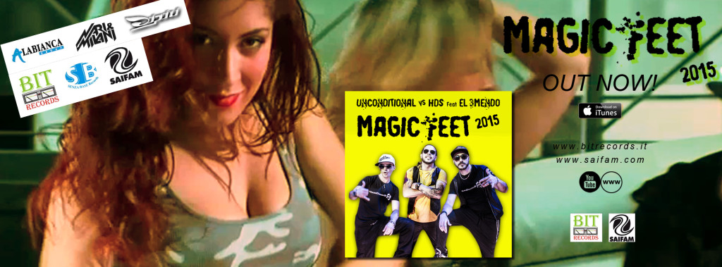 Unconditional vs HDS feat El 3Mendo - Magic Feet 2015 FB
