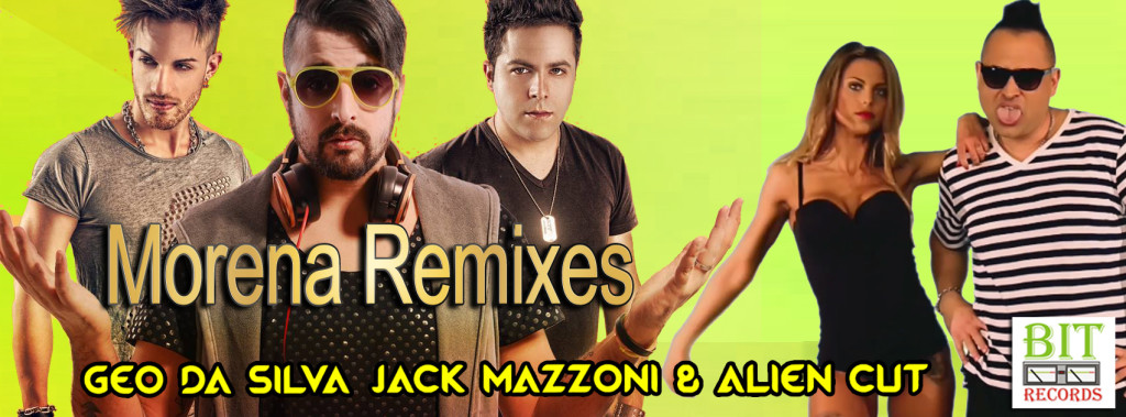 Geo Da Silva, Jack Mazzoni & Alien Cut - Morena remix FB 2