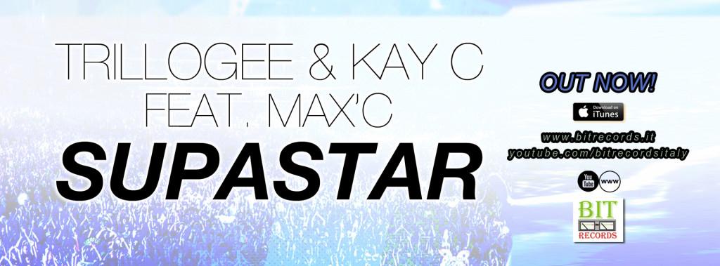 Trillogee & Kay C feat. Max'C - Supastar FB